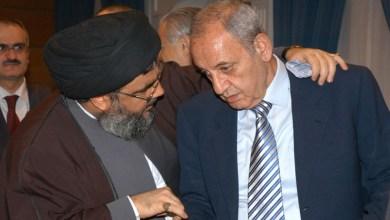 صورة الثنائي الشيعي يمسكون بمفاصل الدولة اللبنانية وقراراتها