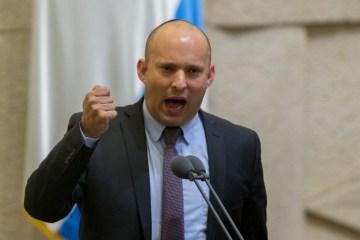 نفتالي بينيت: آخر حجر بالحكومة