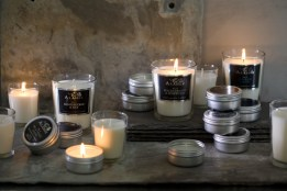 Alassis glass candles