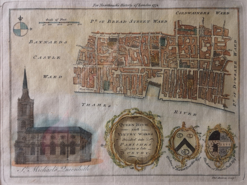 Queenhithe & Vintry Wards 1772