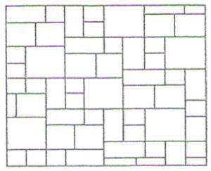 flooring patterns tile sizes