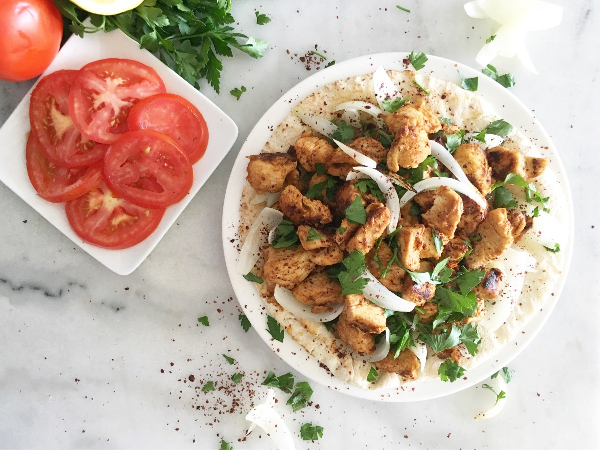 Stovetop Chicken Shish