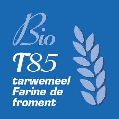 Bio tarwemeel T85