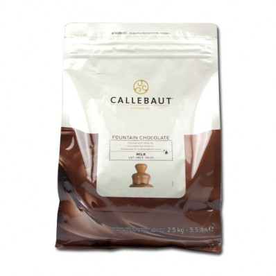 melkchocolade voor de chocoladefontein