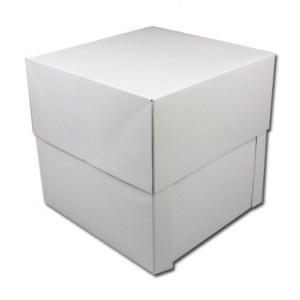 Witte XXL-taartdoos