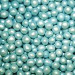 blauwe parels