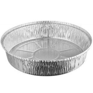 Ronde aluminium schaal