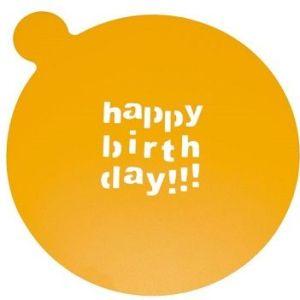sjabloon 'happy birthday'