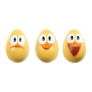 3D-eitjes met smiley