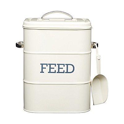 Vintage feed tin