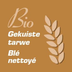 bio gekuiste tarwe