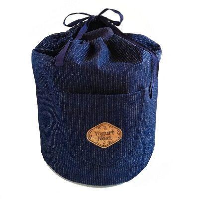 Denim Stripe Pocket