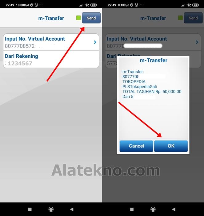 Pembayaran Voucher AHU Melalui Mobile Banking BCA