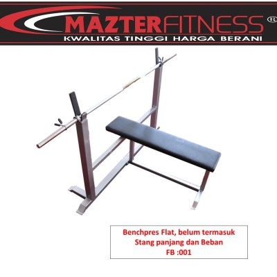 Benchpress-flat-BP-001-Mazter-Fitness