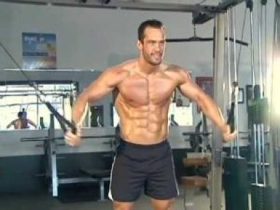 Alat Fitnes Cable Cross Over