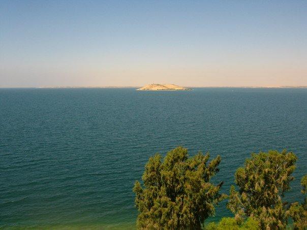Vista del Río Eufrates desde uno de los castillos