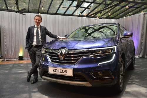 Christophe Dupont Renault Koleos - Crédit image carsome