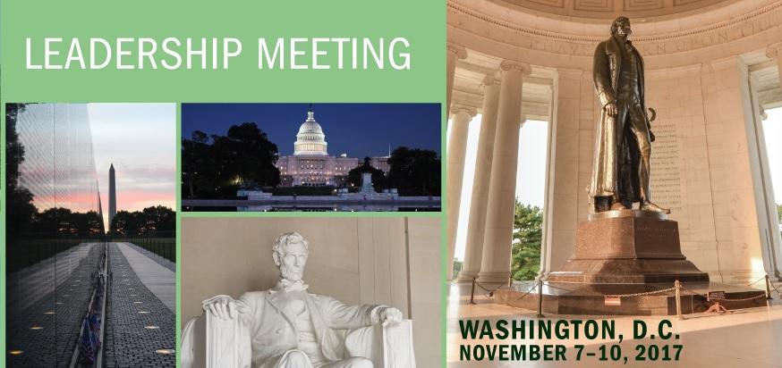 inta leadership meeting washington DC 2017