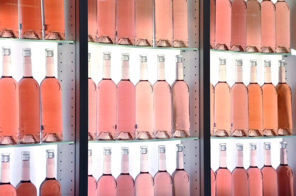 Fraude sur les bouteilles de rosé