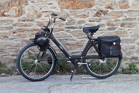 "Vélomoteur de la marque ""made in France"" Solex"