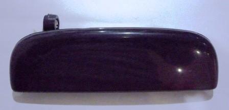 DOOR HANDLE OUTER LEFT HAND S/ APV BLACK