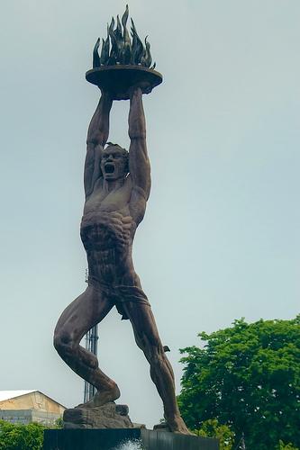 Pembuat Patung Pancoran : pembuat, patung, pancoran, MONUMEN, PATUNG, JAKARTA