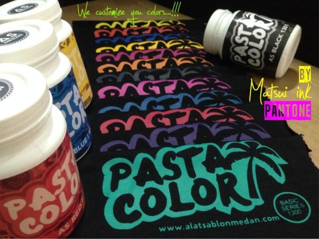 tinta sablon, tinta warna, tinta matsui