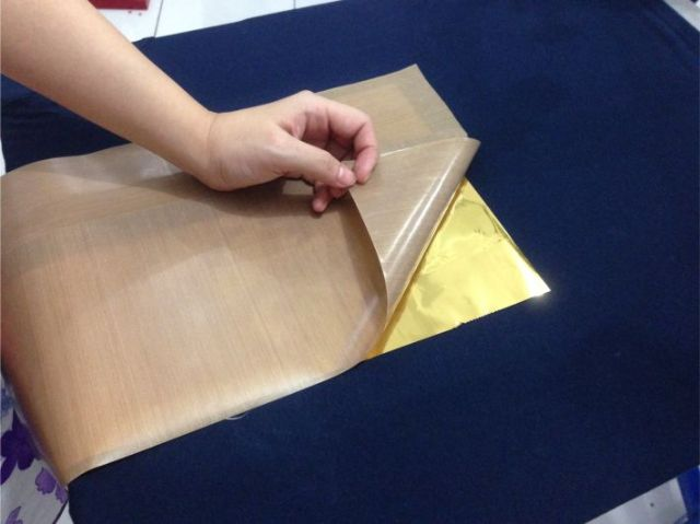 sablon foil emas