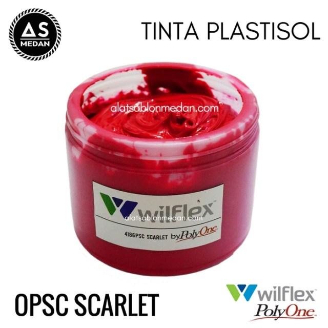 Tinta Sablon Kaos Wilflex Plastisol Opsc Scarlet