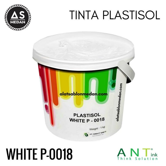 Tinta Sablon Kaos Ant ink Plastisol White