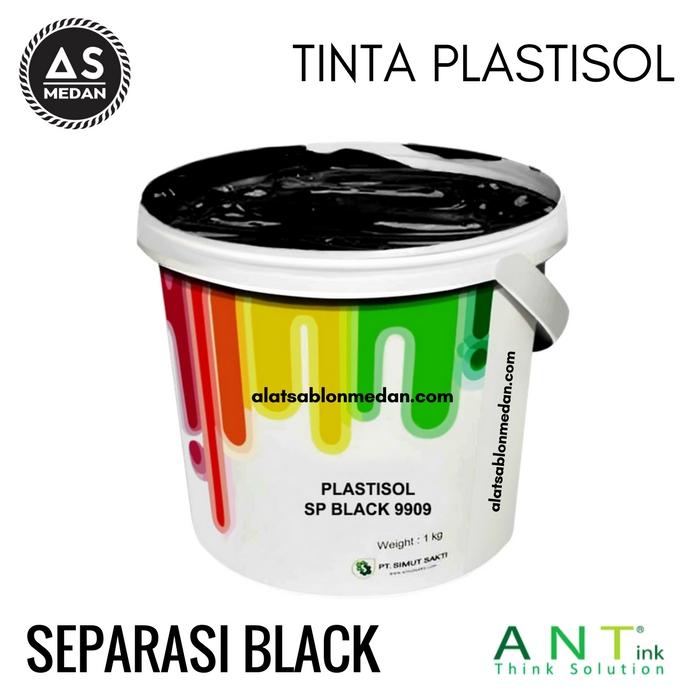 Tinta Sablon Kaos Ant ink Plastisol Separasi Black