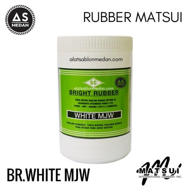Tinta Sablon Kaos Matsui Bright Rubber White MJW