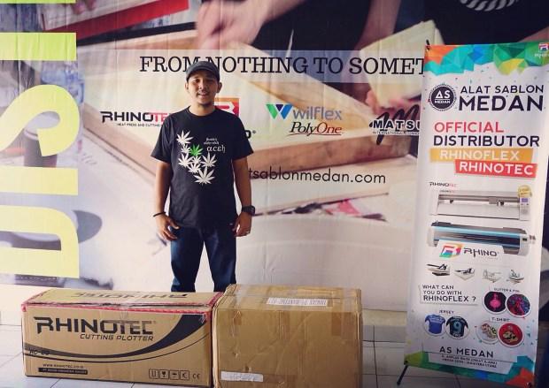 Diborong sm pengusaha workshop sablon Kota Medan
