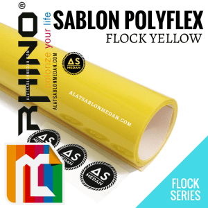 Polyflex Korea Rhino Flock Yellow