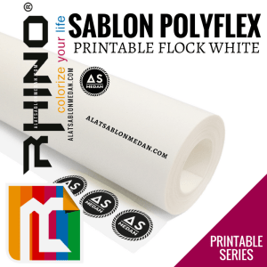 Polyflex Korea Rhino Printable Flock White