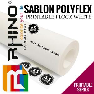 Polyflex Korea Rhino Printable Flock White