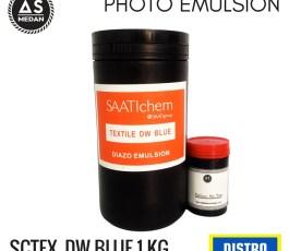 Obat Afdruk Sablon Import SaatiChem Textile DW Blue
