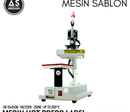 Mesin Press Label Kaos 250watt Rhinotec RTT 02