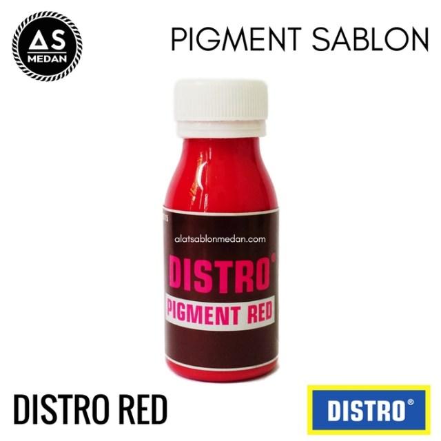 Biang Warna Sablon Distro Red