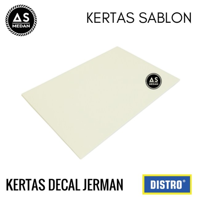 Kertas decal jerman