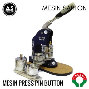 Mesin press pin button