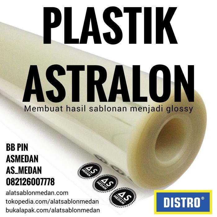 Kegunaan Plastik Astralon pada sablon kaos
