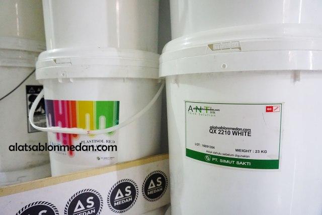Tinta Sablon Kaos Ant Ink Pasta Rubber QX White