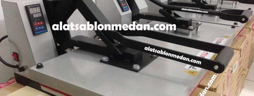 Alat sablon digital mesin press kaos