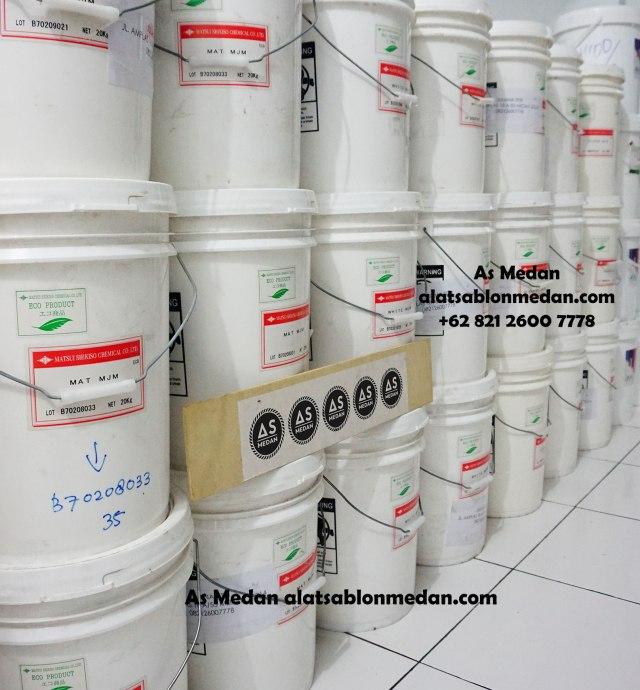 Ready stock tinta sablon kaos isi pail 20-25kg