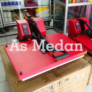 Mesin press kaos 40x60cm 1800watt