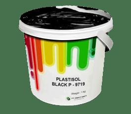 Tinta Sablon Kaos Ant Ink Plastisol Black 1kg
