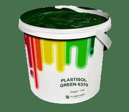Tinta Sablon Kaos Ant Ink Plastisol Green 1kg