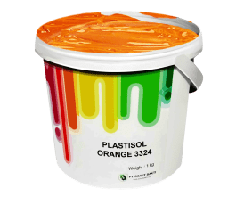 Tinta Sablon Kaos Ant Ink Plastisol Orange 1kg