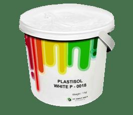 Tinta Sablon Kaos Ant Ink Plastisol White 1kg